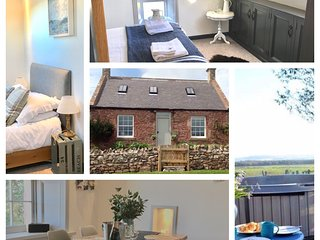 Whitfield Bothy Cottage with Hot Tub, Coldingham
