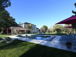NEW this year: Beautiful Character Stone Property in the Saint-Emilion area