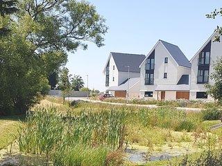 Romney Marsh, St Mary's Bay, Dymchurch, Kent, Pool