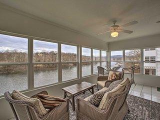 Lakefront Home w/Hot Tub, Dock & Resort Amenities!