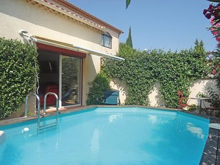 Beautiful home in Villeneuve les Beziers w/ WiFi and 2 Bedrooms