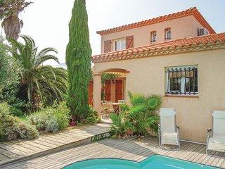 Amazing home in Saint-Laurent-de-la-Sa w/ WiFi and 4 Bedrooms (FLP013)