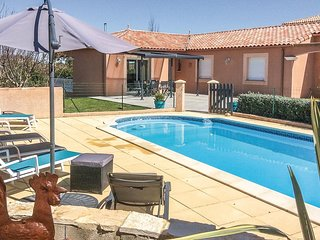 Nice home in Puimisson with Outdoor swimming pool, WiFi and Outdoor swimming poo