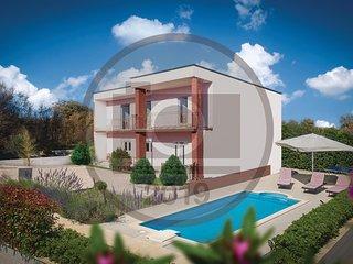 Stunning home in Loborika w/ WiFi, 5 Bedrooms and Outdoor swimming pool