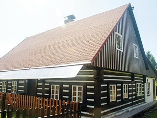 Amazing home in Horní Lánov w/ Sauna, WiFi and 3 Bedrooms