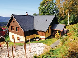 Nice home in Albrechtice w/ Sauna, WiFi and 6 Bedrooms