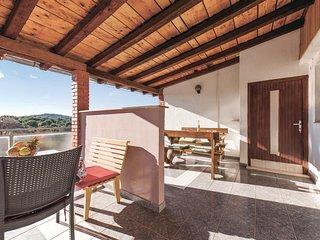 Beautiful home in Jezera w/ WiFi and 1 Bedrooms