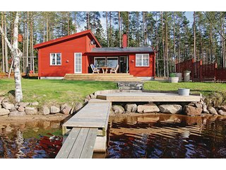 Amazing home in Vaggeryd w/ Sauna, WiFi and 2 Bedrooms