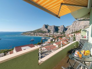 Beautiful home in Omis w/ WiFi and 2 Bedrooms