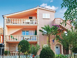 Stunning home in Privlaka w/ WiFi and 2 Bedrooms
