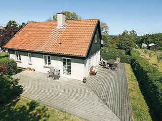 Stunning home in Gudhjem w/ WiFi and 4 Bedrooms