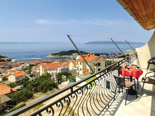 Stunning home in Makarska w/ WiFi and 3 Bedrooms