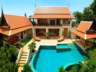 Ban Tawan, 3 Bedroom Luxury Sea View Holiday Villa