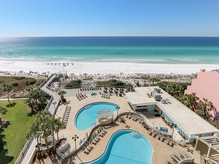 'Island Echoes' ~ Tides 805 - 8th floor - gorgeous Gulf front view