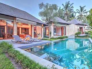 Luxury,Nice view private 2BR villa 5 Mins to ubud center