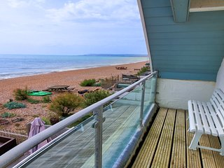 Driftwood, Beach front property in Pevensey Bay