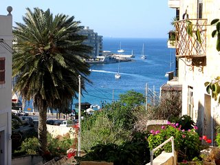Sliema, sea view, central and calm