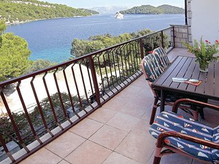 Nice home in Mljet w/ WiFi and 3 Bedrooms