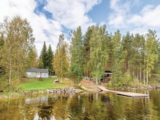 Beautiful home in Mikkeli w/ Sauna and 1 Bedrooms