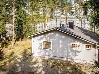 Nice home in Pertunmaa w/ Sauna, WiFi and 2 Bedrooms