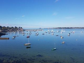 Appartement vue sur l'entree du Golfe du Morbihan