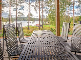 Awesome home in Anttola w/ Sauna, WiFi and 3 Bedrooms