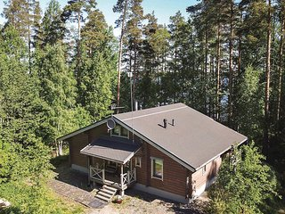 Awesome home in Mäntyharju w/ Sauna, WiFi and 2 Bedrooms
