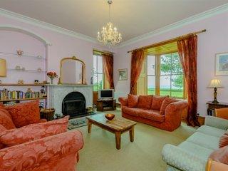 Pentre Bach House lounge