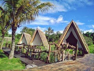 Rustic Teepee Njung Bali Camp