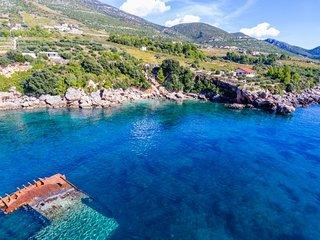 Seafront villa for rent Peljesac Peninsula