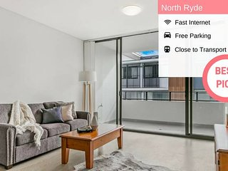 Nth Ryde 2bed Free Parking Macq Park STN NNR001