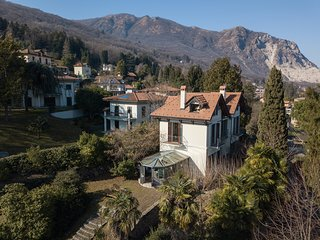 Villa Maria with garden and lake view in Baveno