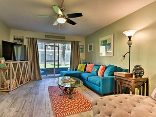NEW! Updated St. Augustine Condo - Walk to Beach!
