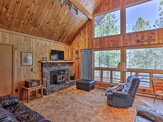 Central Black Hills Cabin w Loft & Wraparound Deck