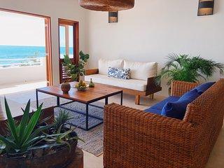 Three Bedroom Oceanfront Ecoluxe Haven