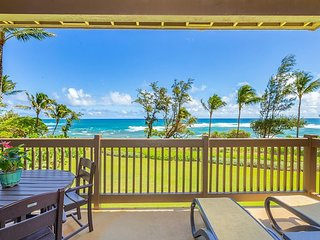 Kaha Lani Resort #224, Ocean Front, 2nd Floor, Moon Rise & Sunrise Views!