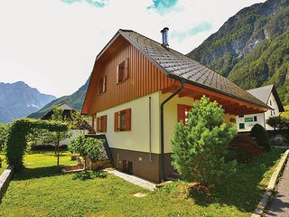 Nice home in Bovec w/ WiFi and 3 Bedrooms