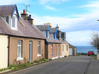 Murrayfield - looking to sea
