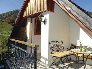 Amazing home in Ljubno ob Savinji w/ WiFi and 1 Bedrooms