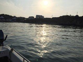 Peibron sea view