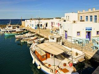 Paros Naoussa family studio close to the beach