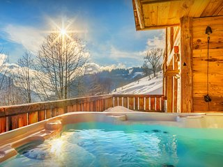 Luxury Les Gets ski chalet for 12 - hot tub, terrace, views - OVO Network