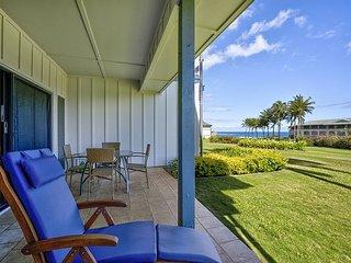 Ground floor with ocean views 1bed/1.5bath * Poipu Sands 312