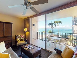 NEW! Contemporary Hololani oceanfront home w/shared pool & stunning views!