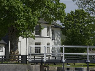 Telford House East - This striking house sits looking over the Caledonian Canal