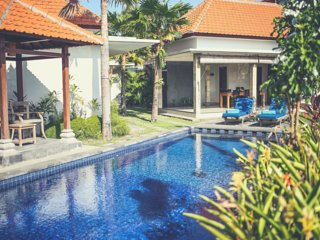 ★ Green Villa ★ BIG LUXURY Villa in Canggu, Bali☀Rice Fields View☀