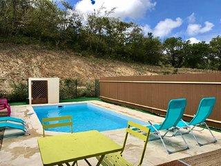 Maison pour 4 pers piscine privee plage et commerces a 800m