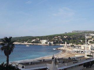 CASSIS vue mer et Port, 30m Plage, Calme, T2 de 55m2