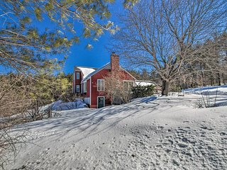 NEW-Rural Maine Home on 3 Acres w/White Mtns Views