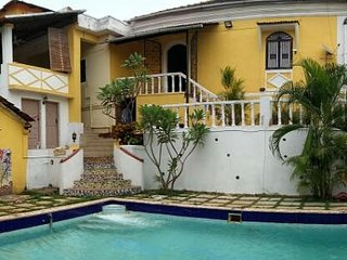 Portuguese pool villa in North goa pet friendly